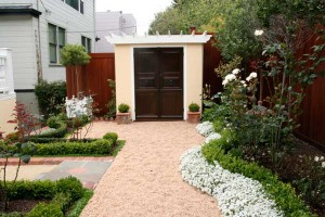 Shed-landscaping