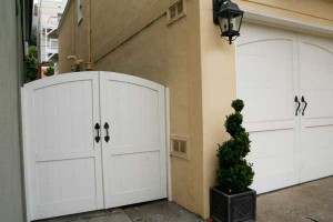 white-garage-side-door