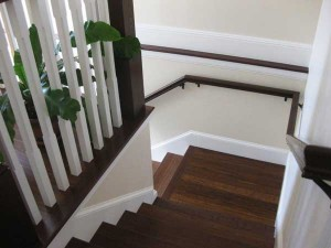 wooden-staircase-ariel
